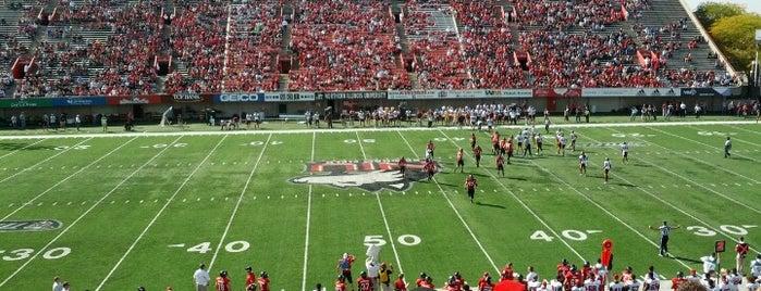 Huskie Stadium is one of MAC Football Stadiums.