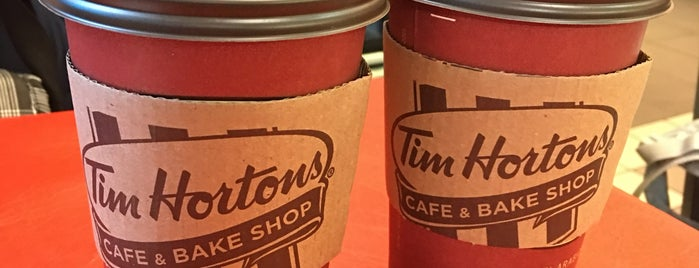 Tim Hortons is one of New York 2012.
