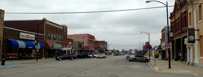 Garner, Iowa is one of Common places.