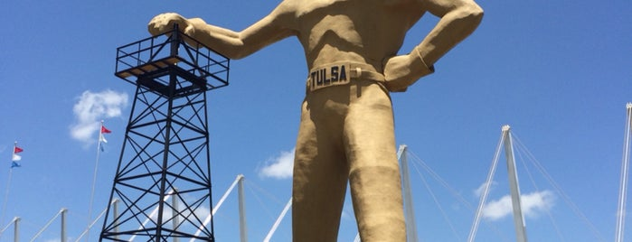 Golden Driller is one of Tulsa.