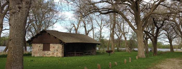 Trappers Bay State Park is one of Iowa: State and National Parks.