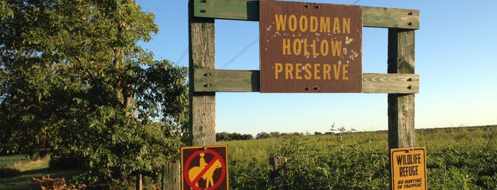 Woodman Hollow State Preserve is one of Iowa: State and National Parks.