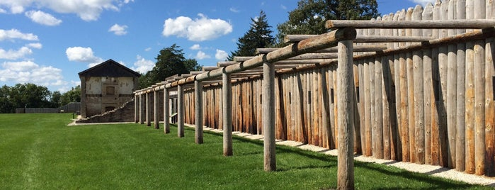 Fort Atkinson Historic Site is one of Iowa: State and National Parks.