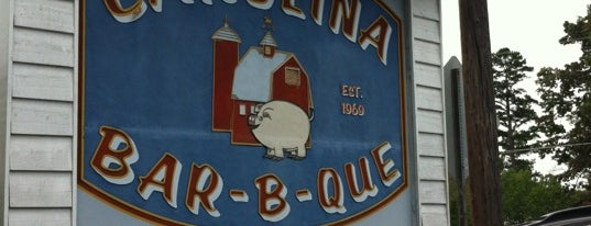 Carolina Bar-B-Que is one of South Carolina Barbecue Trail - Part 1.