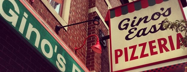 Gino's East is one of Pizza!!.