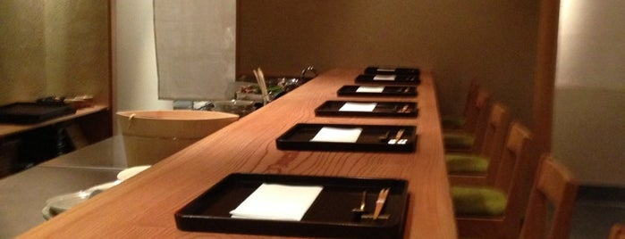 Kajitsu is one of 2013 NYC Michelin Starred Restaurants.