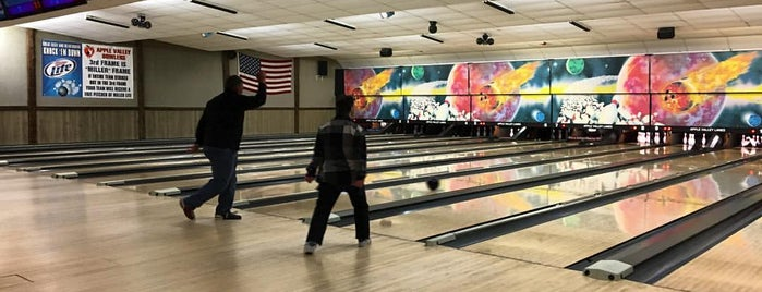 Apple Valley Lanes is one of Favorite's.