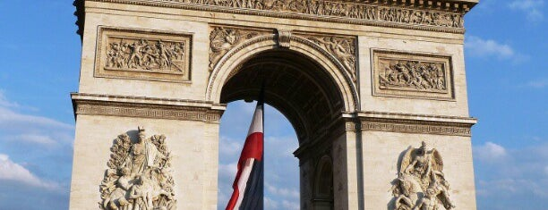 Arc de Triomphe is one of Place to visit in Paris.