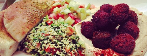 Taïm Falafel and Smoothie Bar is one of NYC (-23rd): RESTAURANTS to try.