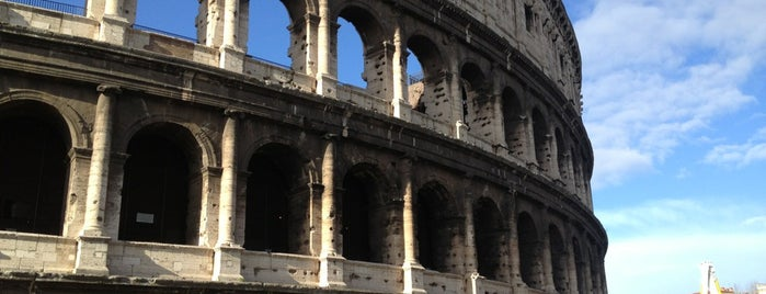 Colosseum is one of Europe 2013.