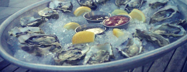 B Restaurant & Bar is one of $1 OYSTERS.