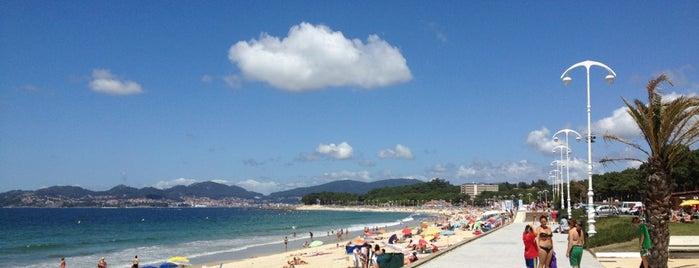 Praia de Samil is one of Europa.