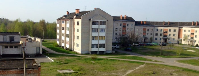 Микашевичи is one of Города Беларуси.