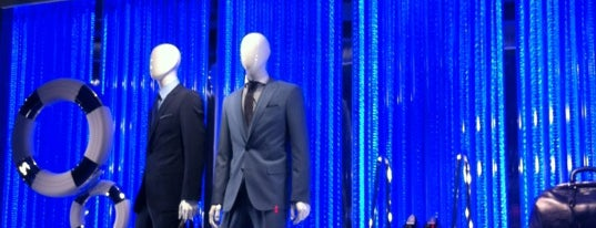 BOSS Store is one of HUGO Fashion Show Pieces.