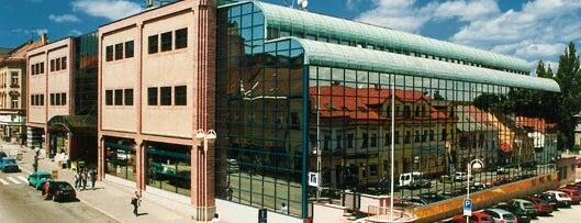 Obchodní dům Dvořák is one of Místa s vysílači Numitor.cz.