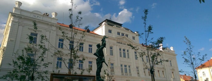 Náměstí T. G. Masaryka is one of můj seznam míst.
