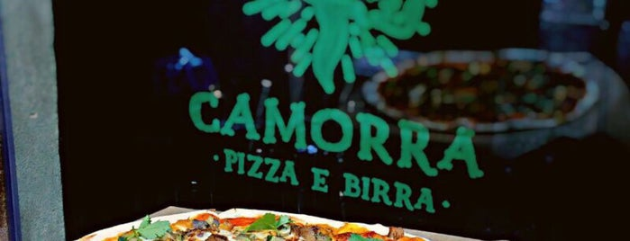 Camorra Pizza&Birra is one of to eat spb.