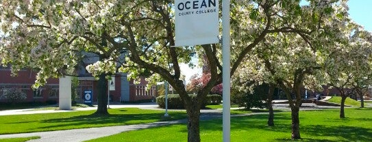 Ocean County College is one of places.