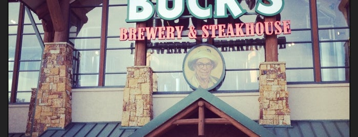 Uncle Buck's Brewery & Steakhouse is one of My Visited Breweries.