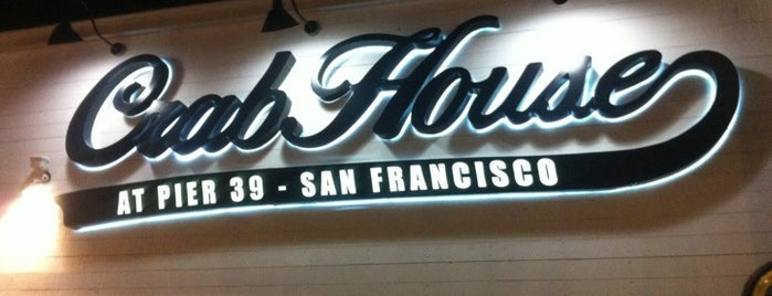 Crab House at Pier 39 is one of San Fracisco.