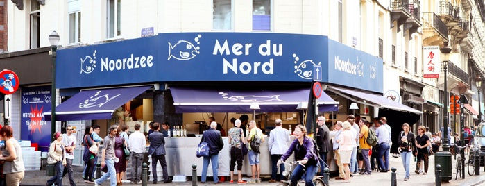 Noordzee - Mer du Nord is one of Brussels: the insider's guide.