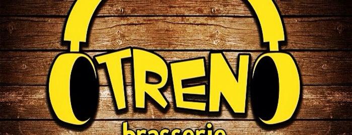 TREN Brasserie is one of Orhan.