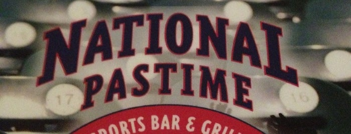 National Pastime Sports Bar & Grill is one of places to dine.