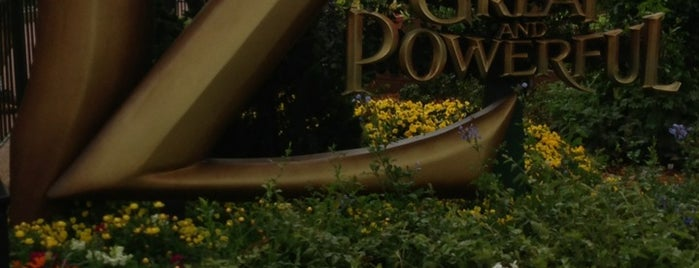 The Great And Powerful Oz is one of Walt Disney World - Epcot.