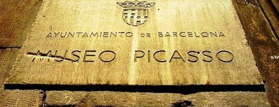 Picasso Museum is one of Barcelona.
