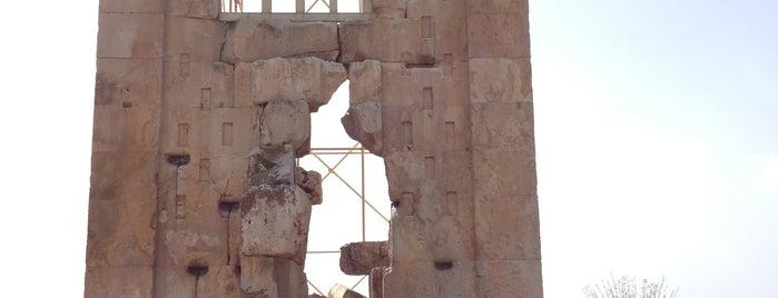 Stone Tower is one of Shiraz Attractions | جاذبههای شیراز.