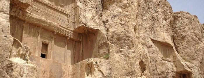 Naqsh-e Rostam (Necropolis) is one of Shiraz Attractions | جاذبههای شیراز.