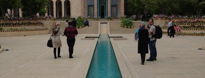 Saadi Mausoleum (Saadieh) is one of Shiraz Attractions | جاذبههای شیراز.