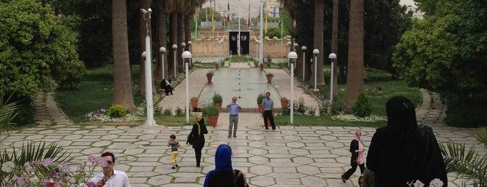 Afif-Abad Garden is one of Shiraz Attractions | جاذبههای شیراز.