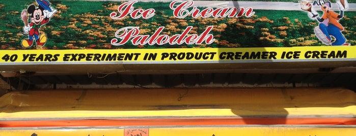 Arg Ice Cream is one of Shiraz Attractions | جاذبههای شیراز.