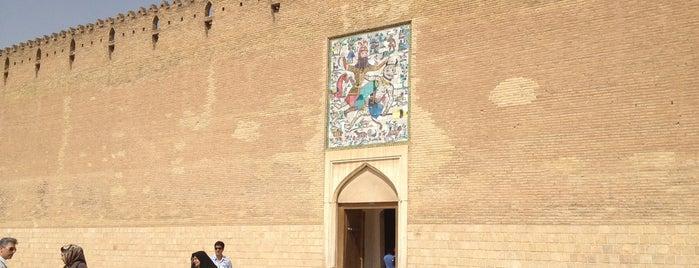 The Arg of Karim Khan is one of Shiraz Attractions | جاذبههای شیراز.