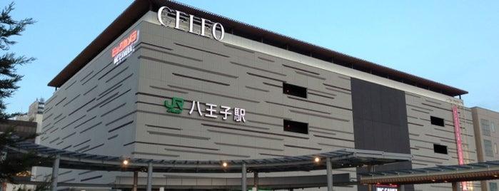 Hachiōji Station is one of 遠く.