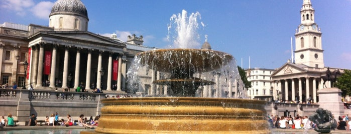 Trafalgar Square is one of London - STA Travel Expert Trip.
