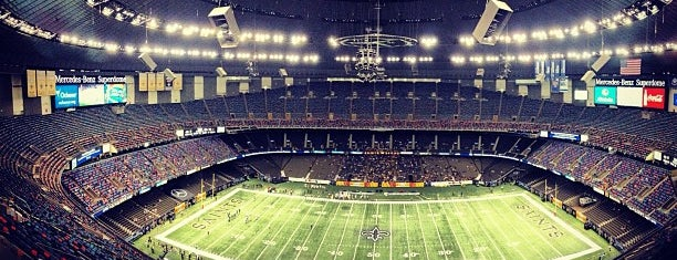 Mercedes-Benz Superdome is one of Unlock Spot.