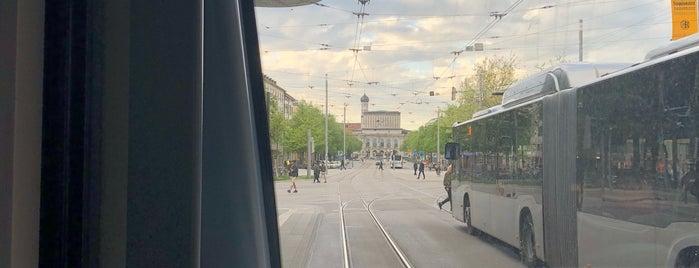 H Königsplatz is one of Guide to Augsburg's best spots.