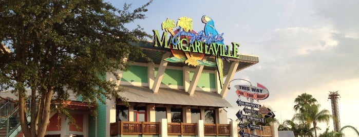 Jimmy Buffet's Margaritaville is one of Orlando's must visit!.