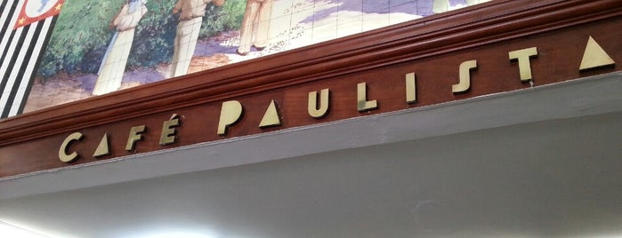 Café Paulista is one of Santos.