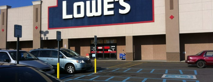Lowe's Home Improvement is one of #416by416 - Dwayne list1.