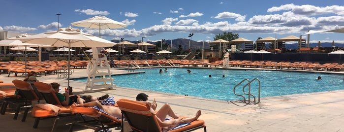 The Beach at Grand Sierra Resort is one of Establishments to Frequent.