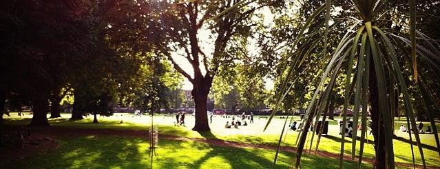 London Fields is one of London, baby!.
