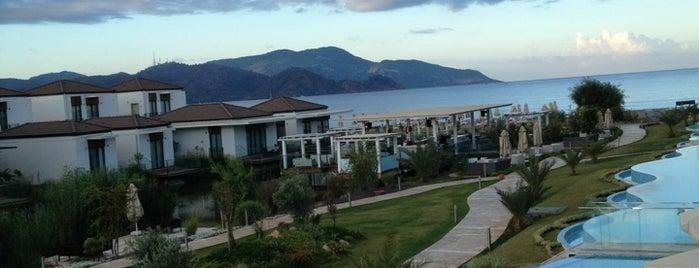 Jiva Beach Resort is one of Fethiye, Turkey.