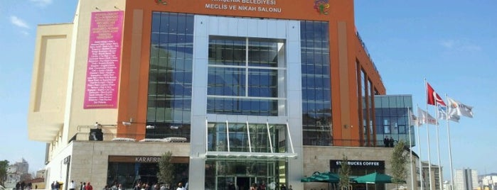 Novada Ataşehir is one of Shopping Centers.