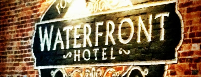 Waterfront Hotel is one of Fells Point Tour.