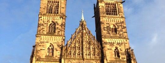 St. Lorenz is one of Nürnberg, Deutschland (Nuremberg, Germany).