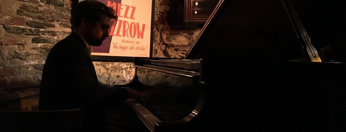 Mezzrow is one of West-Greenwich village.