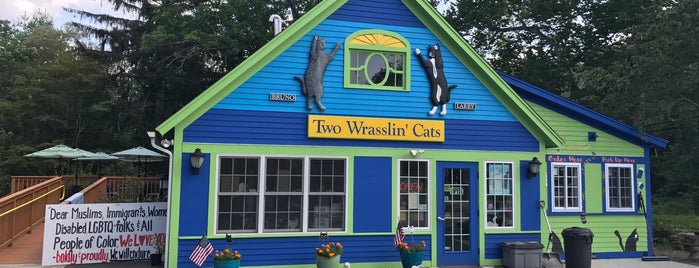 Two Wrasslin Cats is one of Places I've Been.